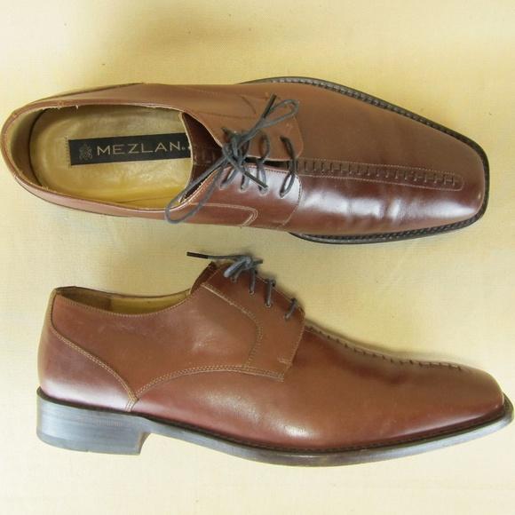 Mezlan Shoes   Oxford Torque Stitch